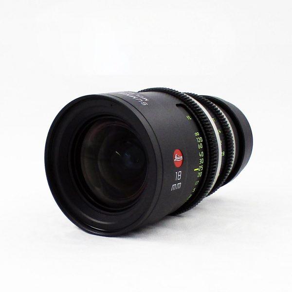 Leica (Leitz-Cine) – Summilux-C 18mm Prime (USED)