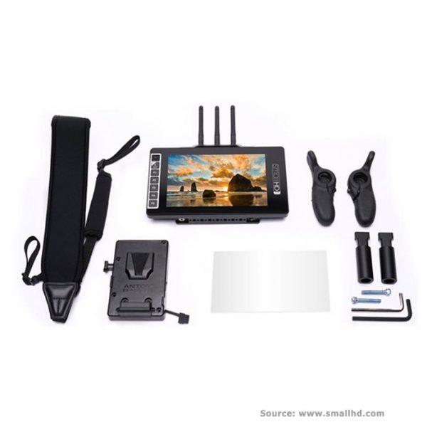 SmallHD703-Ultrabright-SK-RX-Directors-Bundle-V-MountSHD-MON-703-SK-RX-VM-2